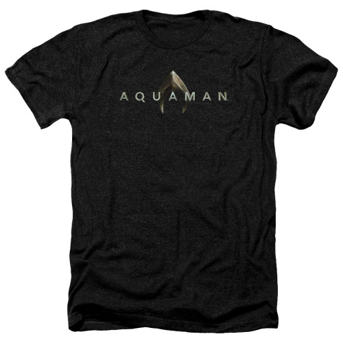 Image for Aquaman Movie Heather T-Shirt - Logo