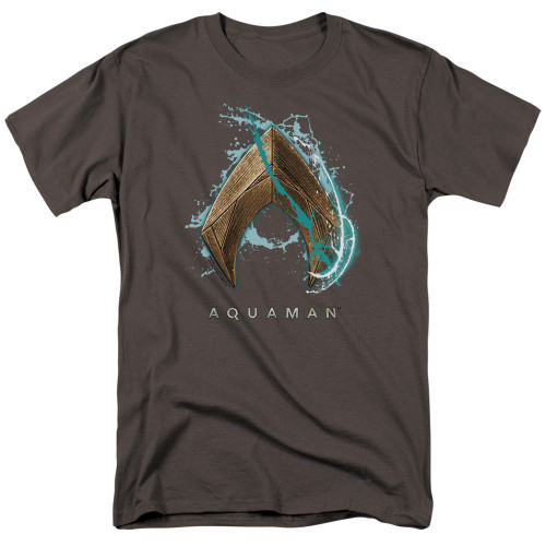 Image for Aquaman Movie T-Shirt - Water Shield