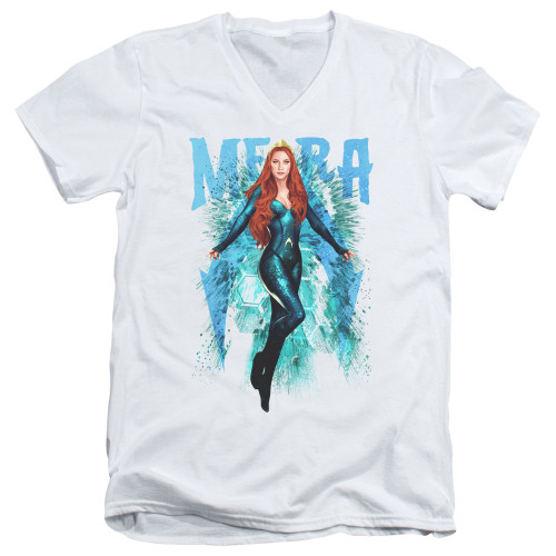 Image for Aquaman Movie V Neck T-Shirt - Mera