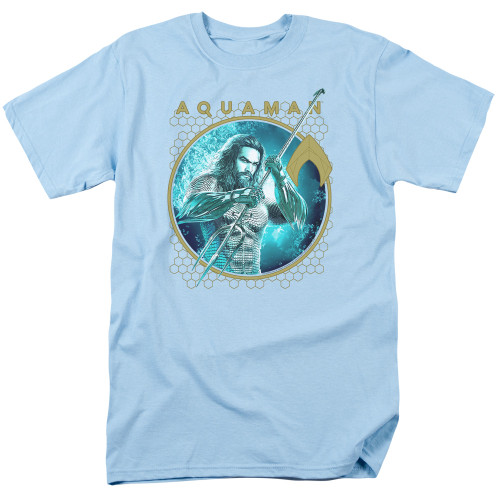 Image for Aquaman Movie T-Shirt - Trident of Neptune