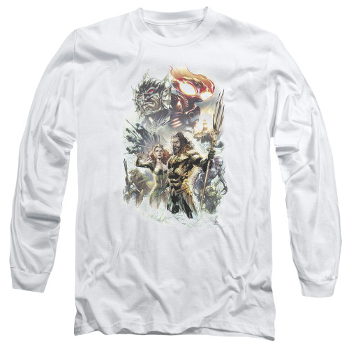 Image for Aquaman Movie Long Sleeve Shirt - King of Atlantis