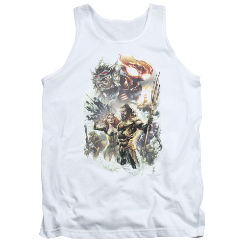 Image for Aquaman Movie Tank Top - King of Atlantis
