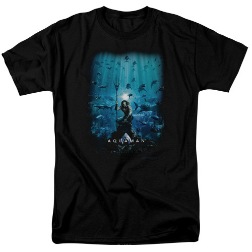 Image for Aquaman Movie T-Shirt - Poster