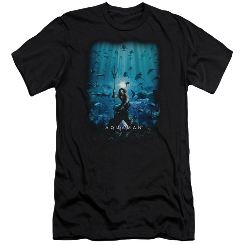 Image for Aquaman Movie Premium Canvas Premium Shirt - Poster