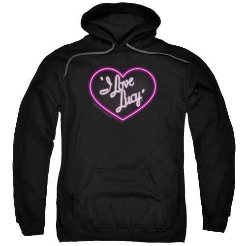 Image for I Love Lucy Hoodie - Neon Logo