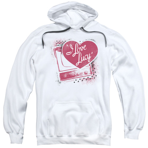 Image for I Love Lucy Hoodie - Spray Paint Heart