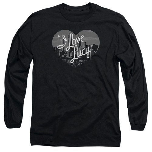 Image for I Love Lucy Long Sleeve T-Shirt - Nostalgic City