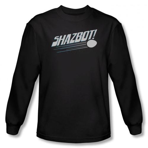 Image for Mork & Mindy Long Sleeve T-Shirt - Shazbot Egg