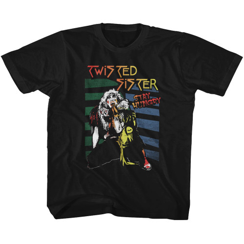 Image for Twisted Sister Stay Hungry Toddler T-Shirt