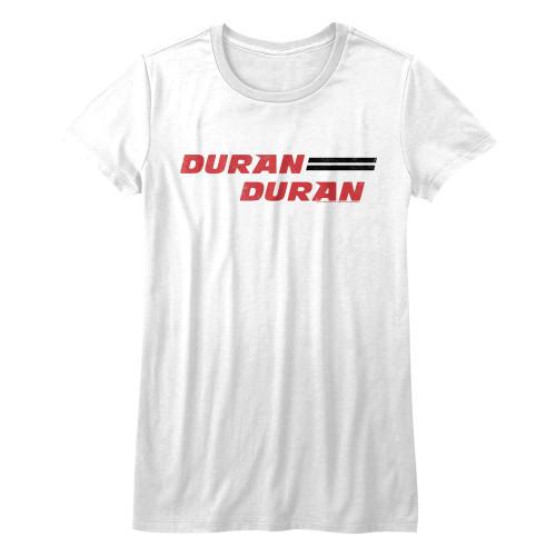 Image for Duran Duran Girls T-Shirt - Horizontal Logo