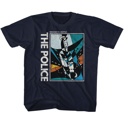 Image for The Police Message in a Bottle Classic Youth T-Shirt