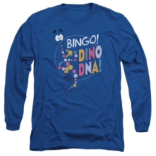 Image for Jurassic Park Long Sleeve Shirt - Bingo Dino DNA