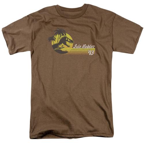 Image for Jurassic Park T-Shirt - ISLA Nublar 93