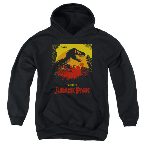 Image for Jurassic Park Youth Hoodie - Welcome to JP