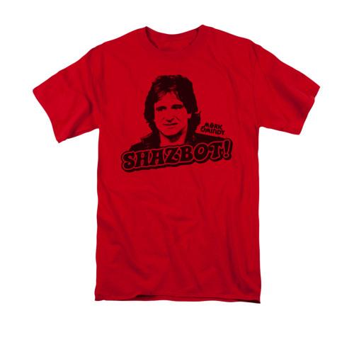 Image for Mork & Mindy T-Shirt - Shazbot!