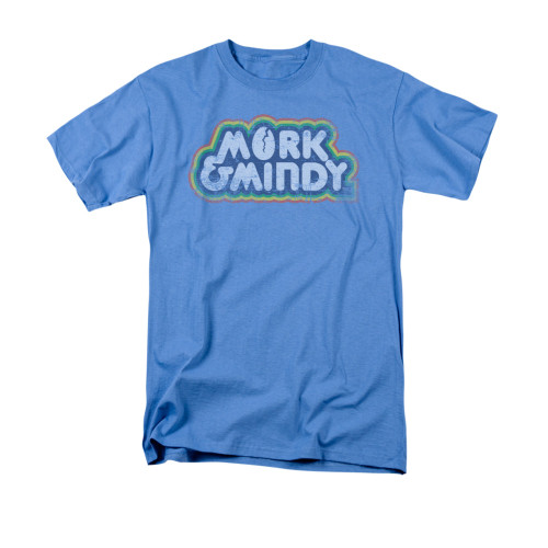 Image for Mork & Mindy T-Shirt - Distressed Show Logo
