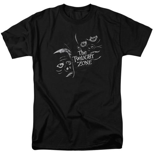 Image for The Twilight Zone T-Shirt - Strange Faces