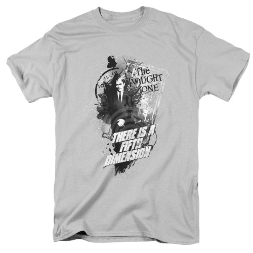 Image for The Twilight Zone T-Shirt - Fifth Dimension