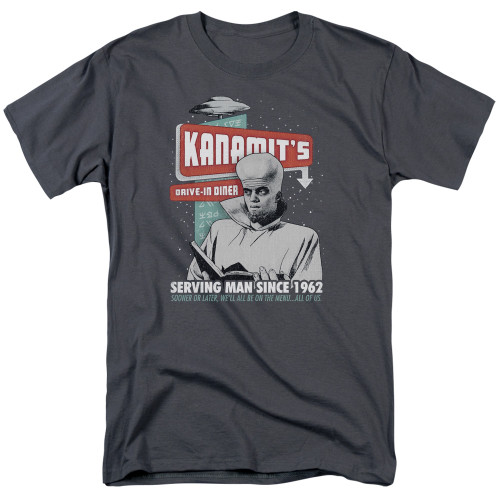 Image for The Twilight Zone T-Shirt - Kanamits Diner