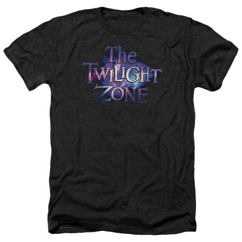 Image for The Twilight Zone Heather T-Shirt - Twilight Galaxy