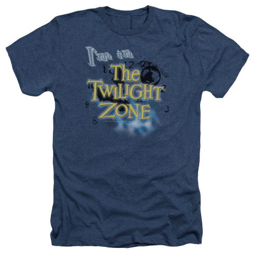 Image for The Twilight Zone Heather T-Shirt - I'm in the Twilight Zone