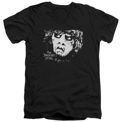 Image for The Twilight Zone T-Shirt - V Neck - Winger
