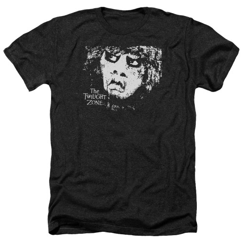 Image for The Twilight Zone Heather T-Shirt - Winger