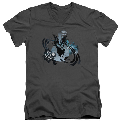 Image for The Twilight Zone T-Shirt - V Neck - Last Man on Earth