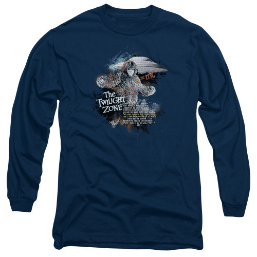 Image for The Twilight Zone Long Sleeve T-Shirt - Science & Superstition