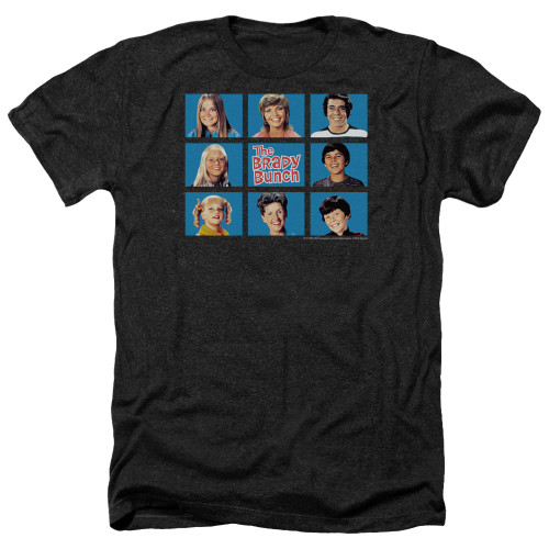 Image for The Brady Bunch Heather T-Shirt - Framed
