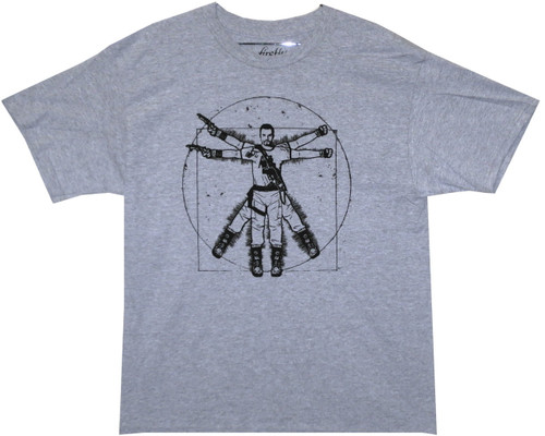 Image for Firefly T-Shirt - Vitruvian Jayne