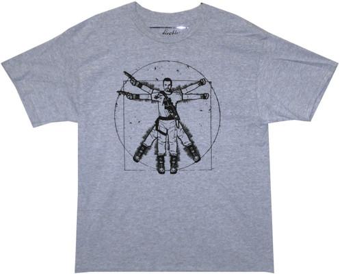 Firefly T-Shirt - Vitruvian Jayne