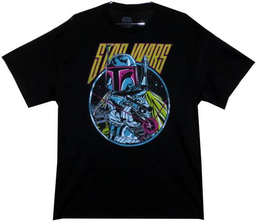 Image for Star Wars T-Shirt - Retro 80s Boba Fett