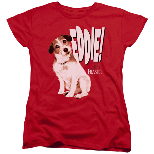 Image for Frasier Woman's T-Shirt - Eddie
