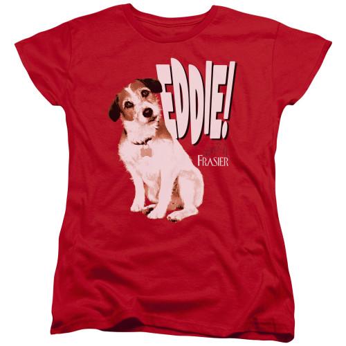 Image for Frasier Woman's T-Shirt - Eddie