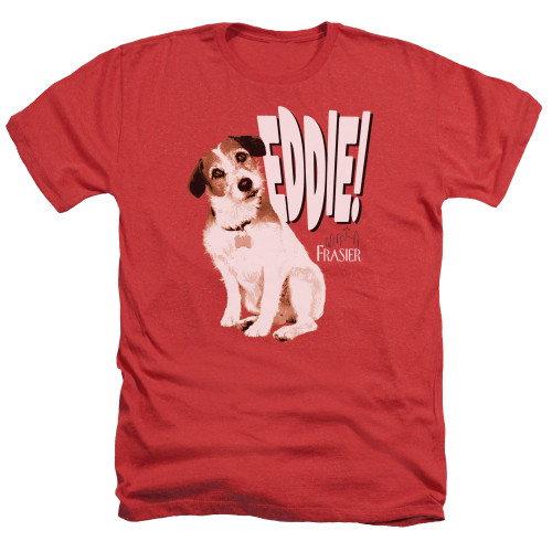 Image for Frasier Heather T-Shirt - Eddie