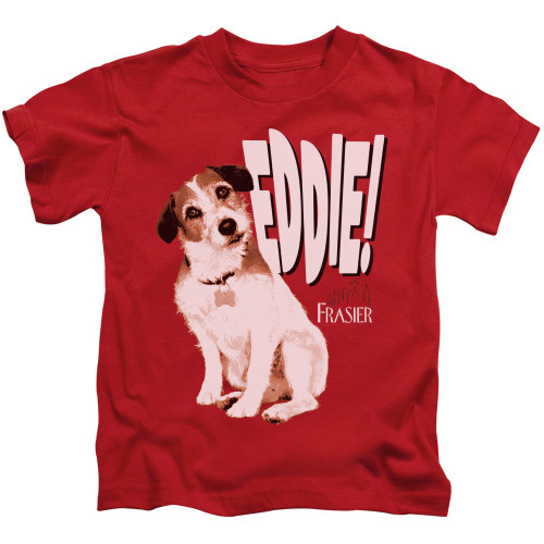 Image for Frasier Kids T-Shirt - Eddie