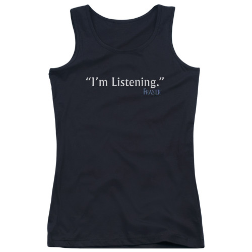 Image for Frasier Girls Tank Top - I'm Listening