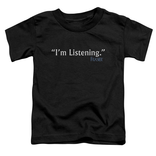 Image for Frasier Toddler T-Shirt - I'm Listening