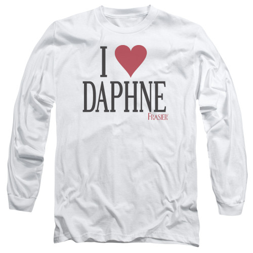 Image for Frasier Long Sleeve T-Shirt - I Heart Daphne