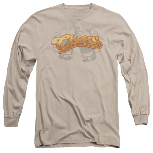 Image for Cheers Long Sleeve T-Shirt - Beer Mugs