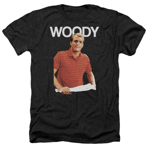 Image for Cheers Heather T-Shirt - Woody Boyd