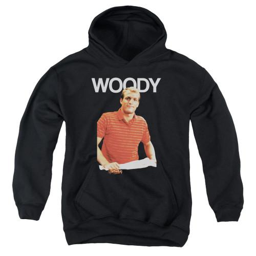 Image for Cheers Youth Hoodie - Woody Boyd