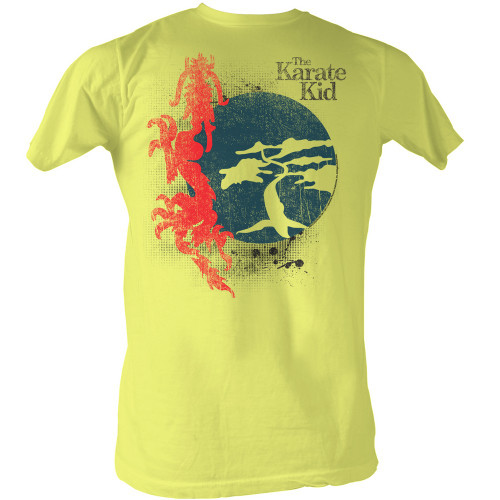 Image for Karate Kid T Shirt - Red Dragon