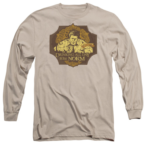 Image for Cheers Long Sleeve T-Shirt - The Norm