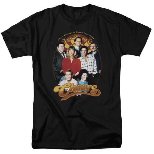 Image for Cheers T-Shirt - Group Shot
