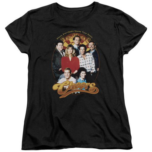 Image for Cheers Woman's T-Shirt - Group Shot