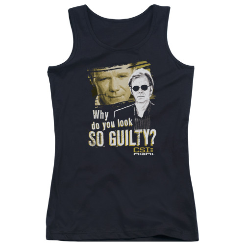 Image for CSI Miami Girls Tank Top - So Guilty