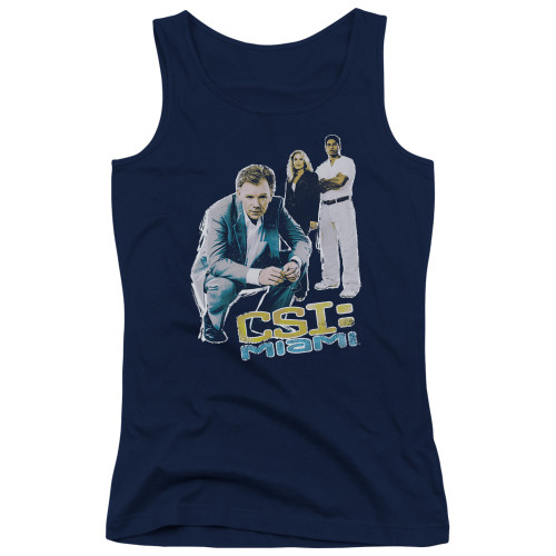 Image for CSI Miami Girls Tank Top - Perspective