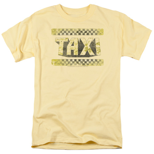 Image for Taxi T-Shirt - Run Down Taxi
